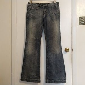 7 For All Mankind Lisa Trousers Flare Jeans 30
